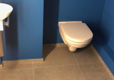 Team Rénovation - Rénovation complète salle de bain et toilettes_Carrelage et peinture - CM_11