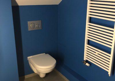 Team Rénovation - Rénovation complète salle de bain et toilettes_Carrelage et peinture - CM_12