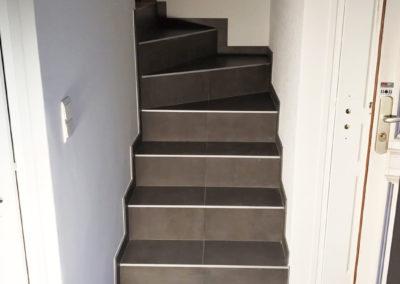 Escaliers en carrelage - DP